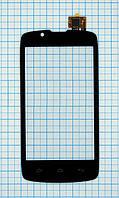 Тачскрин сенсорное стекло для Fly IQ4490 Era Nano 4 black