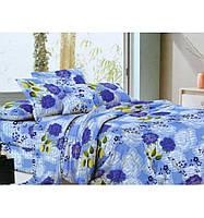 Комплект белья двуспальный Евро Цветочная поляна