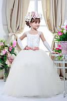 Платье выпускное детское нарядное D721