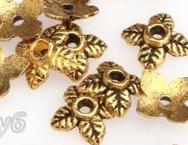 Обниматель металлический античное золото для изготовления бижутерии своими руками