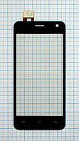 Тачскрин сенсорное стекло для Fly IQ4491 Quad Era Life 3 black