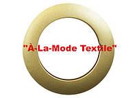 Люверсы диаметр 35 мм золото матовое