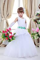 Платье выпускное детское нарядное D715