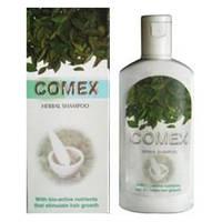 Индийский шампунь Comex основанный на мыльных бобах, индийских травах, плодах и корнях 200 мл