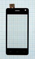 Тачскрин сенсорное стекло для Fly IQ4491Q black