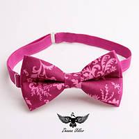 Галстук-бабочка розовая грейс