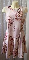 Платье летнее в цветах миди стрейч Next р.50 6533а, фото 1