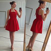 Платье женское Кери красное , женская одежда