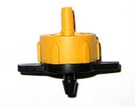 Компенсированная капельница, расход 2л/ч (цвет желтый)