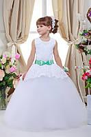 Платье выпускное детское нарядное D711