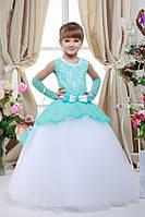 Платье выпускное детское нарядное D710