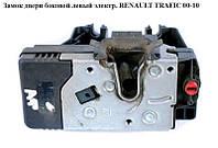 Замок двери боковой сдвижной левый элек. RENAULT TRAFIC 00-14 (РЕНО ТРАФИК)
