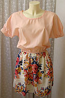 Платье летнее модное нежное мини Baluoke р.46 6534, фото 1