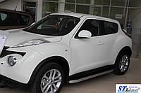 Боковые пороги для Nissan-Juke 2010+ ST Line