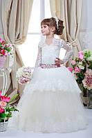 Платье выпускное детское нарядное D705