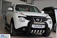 Передняя защита для Nissan Juke 2010+ Atlas ST Line