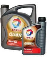 Масло моторное TOTAL Quartz 9000 5W40  5л, фото 1