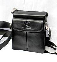 Стильная мужская сумка через плечо-искуственная кожа