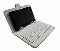 """Чехол с клавиатурой для планшетов 7"""" (USB). Белый"""