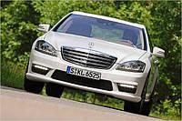 Решетка радиатора тюнинг рестайлинг Mercedes W221 стиль AMG