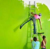 Фасады, стены — покраска