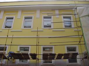 Правильная покраска фасада