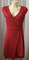Платье летнее в горох стрейч Body Flirt р.40-42 6538