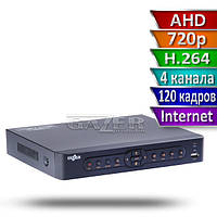 Видеорегистратор для AHD видеонаблюдения Gazer NA204