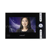 "Видеодомофон Luxury V-715 R0 7"" + видеопанель, фото 1"