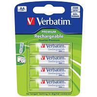 Аккумулятор Verbatim AA 2500mAh * 4 (49941)