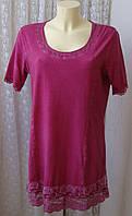 Платье туника шикарное хлопок Tredy р.48-50 6541а