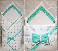 Плед-конверт для новорожденных , фото 1