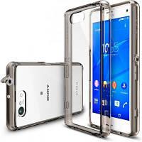 Чехол для моб. телефона Ringke Fusion для Sony Xperia Z3 Compact (Smoke Black) (552542)
