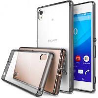 Чехол для моб. телефона Ringke Fusion для Sony Xperia Z3+ (Smoke Black) (171229)