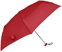 Зонтик карманный 154 г.телескопический плоский красный MANO MPU4RD