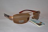 Солнцезащитные очки мужские коричневые классика BOGUAN 8017