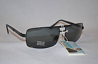 Солнцезащитные очки мужские черные классика BOGUAN 8068