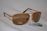 Солнцезащитные очки мужские коричневые классика BOGUAN 9989