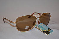 Солнцезащитные очки мужские капли коричневый BOGUAN 3333