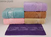 Набор махровых полотенец Yagmur Bamboo /JAPON-CICEGI 6 шт