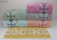 Набор махровых полотенец Yagmur Bamboo /NAZAR 6 шт