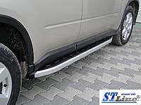 Боковые пороги для Nissan X-Tail 2006+ ST Line