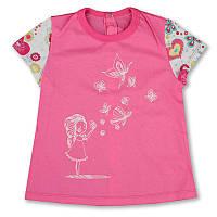 """Детская блуза """"Бабочки"""" для девочки"""