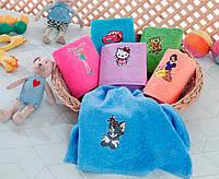 Набор детских махровых полотенец Yagmur Bamboo /Kid's Club 6 шт 50x70