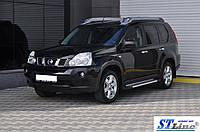 Боковые пороги для Nissan X-Tail 2001-2006 ST Line