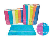 Набор махровых полотенец Gulcan Cotton Ince Bordur 12 шт