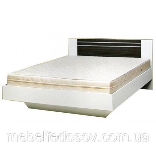 Кровать двуспальная 160 Круиз  (Світ мебелів) 1642х2062х875мм