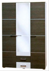 Шкаф 3Д Круиз  (Світ мебелів) 1374х544х2057мм