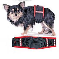 Пояс гигиенический Pet Fashion для кобелей, S ( талия 33 см, ширина пояса 10 см), Пояс  S