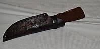 Чехол для охотничьего ножа - кожа